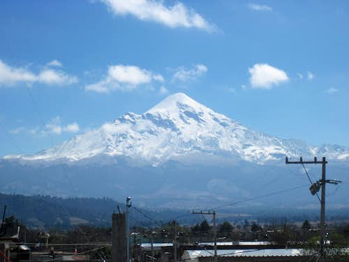 Orizaba solo - early November 2010