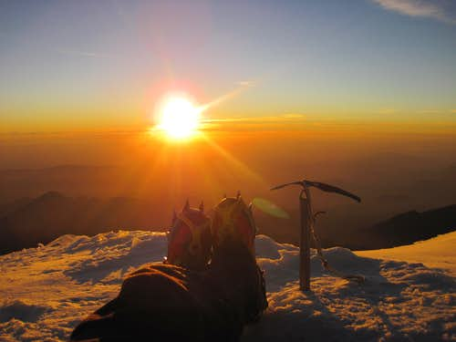 Summit sunrise