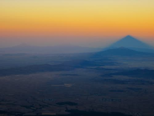 Popo, Izta, La Malinche & the shadow of Pico