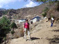 24-March-2004 Hike to Namche...