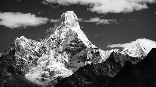 Ama Dablam from Khumjung