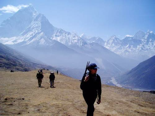 March 2004 - Hike to Everest...
