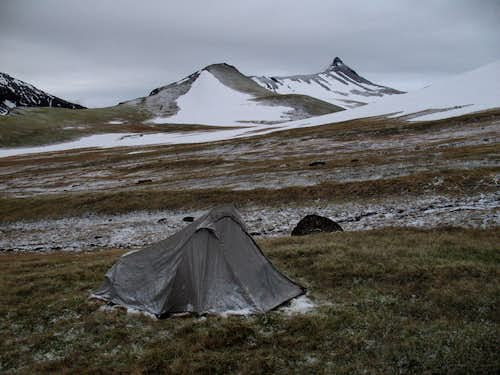 Camp the Next Morning