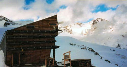 The Quintino Sella Hut
