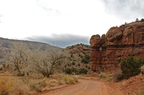 Road to Escalante canyon