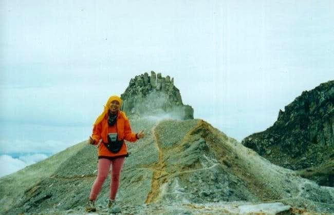 Batu Segal pillar at the...