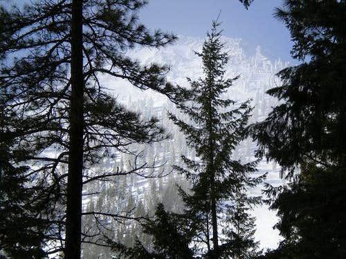 Black Butte winter 2010