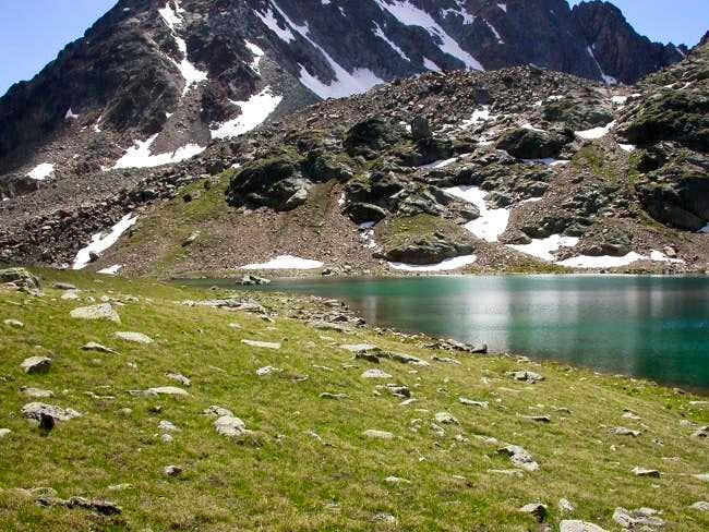 il lago di Lussert Medio...
