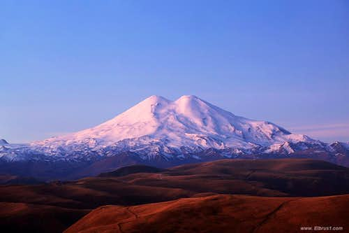 Mt. Elbrus North side view