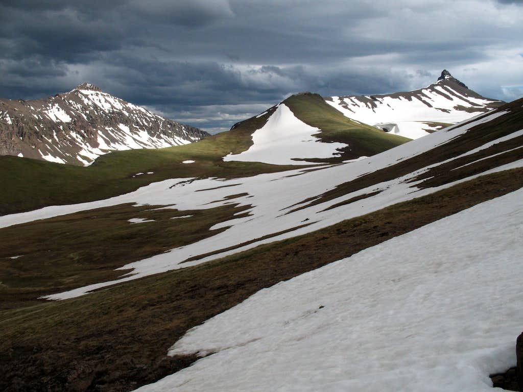 Mount Dewey and Dead Indian Peak