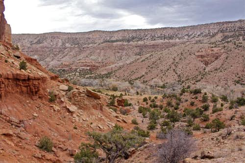 Escalante Canyon Rock Climbing
