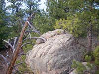 Summit Block of Smithy Mountain