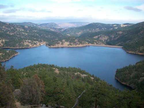 Button Rock Reservoir