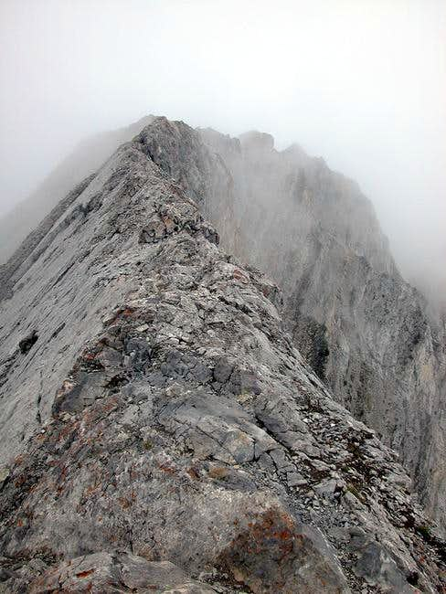 The summit of Mount Lady...