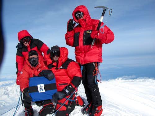 Summit at last!