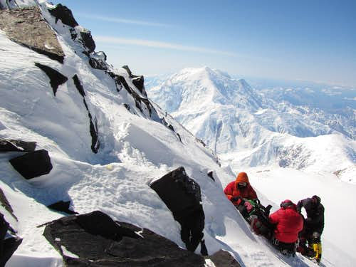 Above Denali Pass