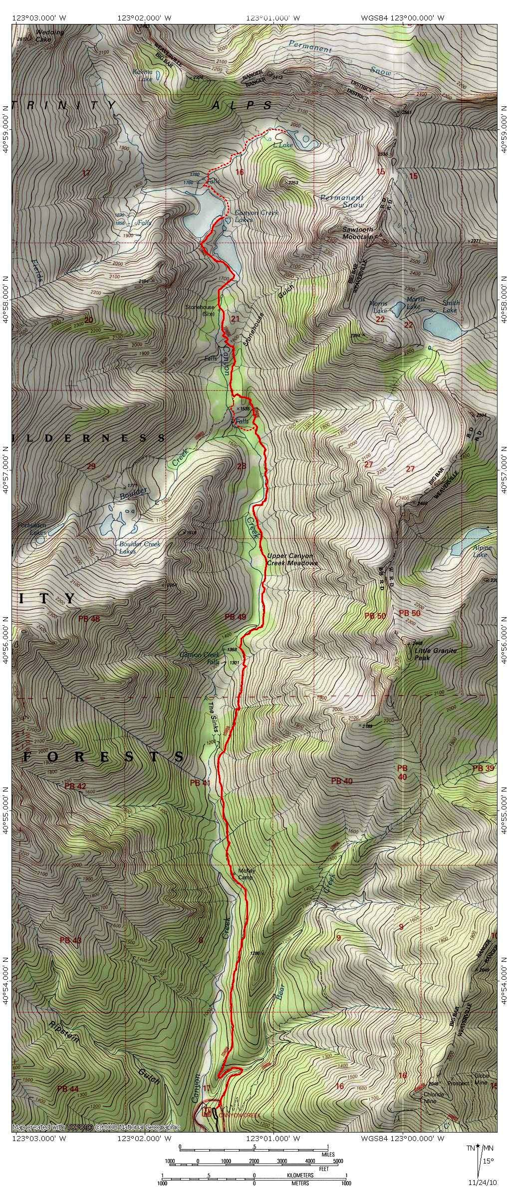 Canyon Creek Trail