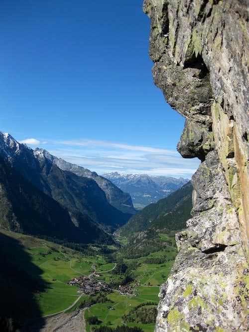 View towards Guttannen
