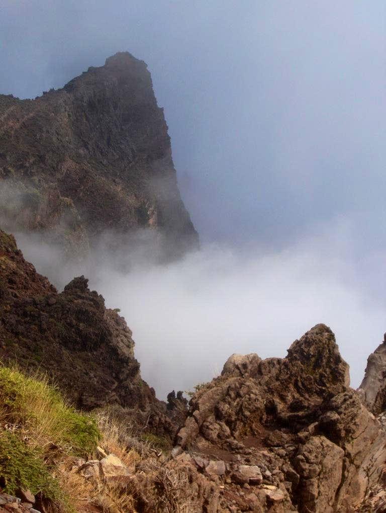 North rim of Caldera de Taburiente