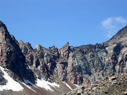 la cresta del Grauson