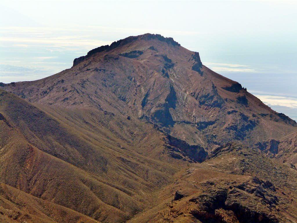 Corkscrew Peak from Grapevine Nipple
