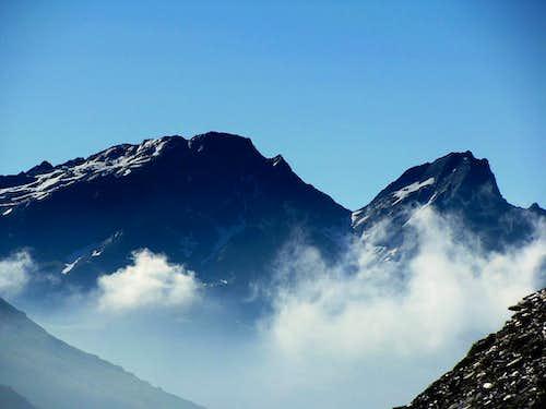 Italian part of Stubaier Alps