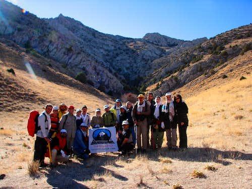 صعود به قله کماس در 5-9-89