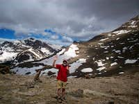 SE slopes Mummy Mountain