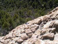 Rappel Rock chickenheads