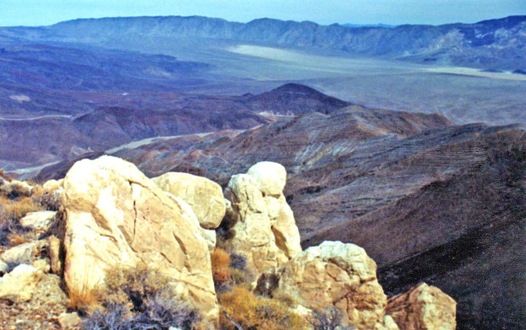 Northern Panamint Valley from Zinc Hill
