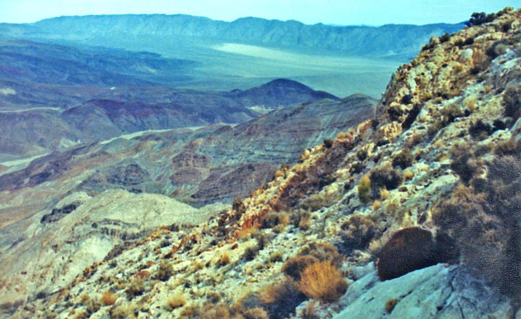 Zinc Hill northwest ridge