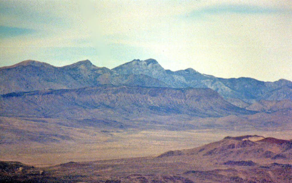 Southern Inyo Mtns. from Zinc Hill