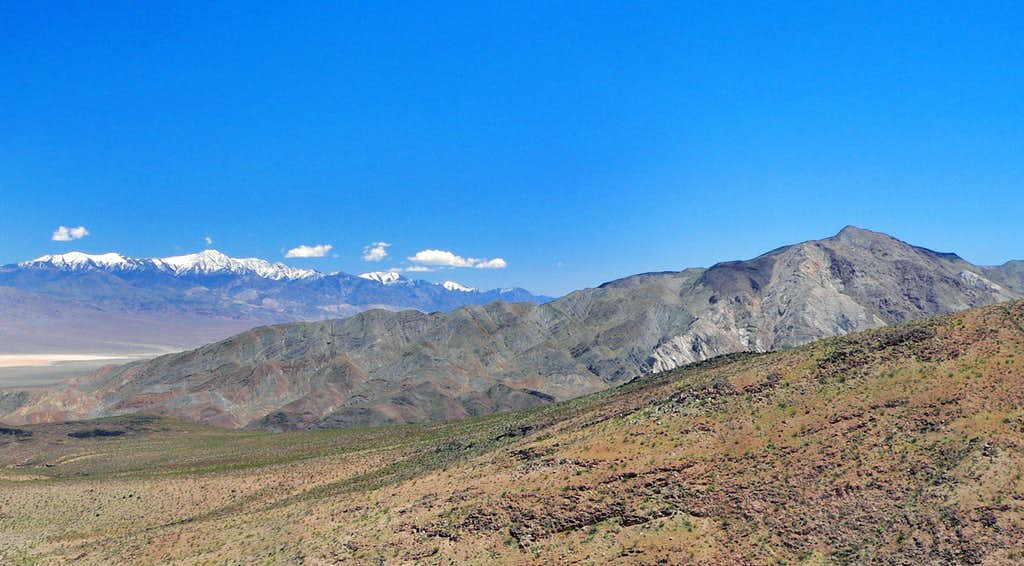 The Panamint Range and Zinc Hill