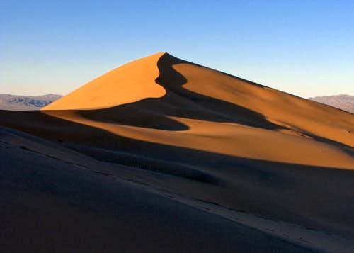 Kelso Dunes at Sunset