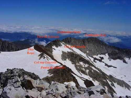 Lliterola's ridge