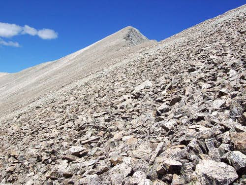 Mt. Antero\'s East Ridge