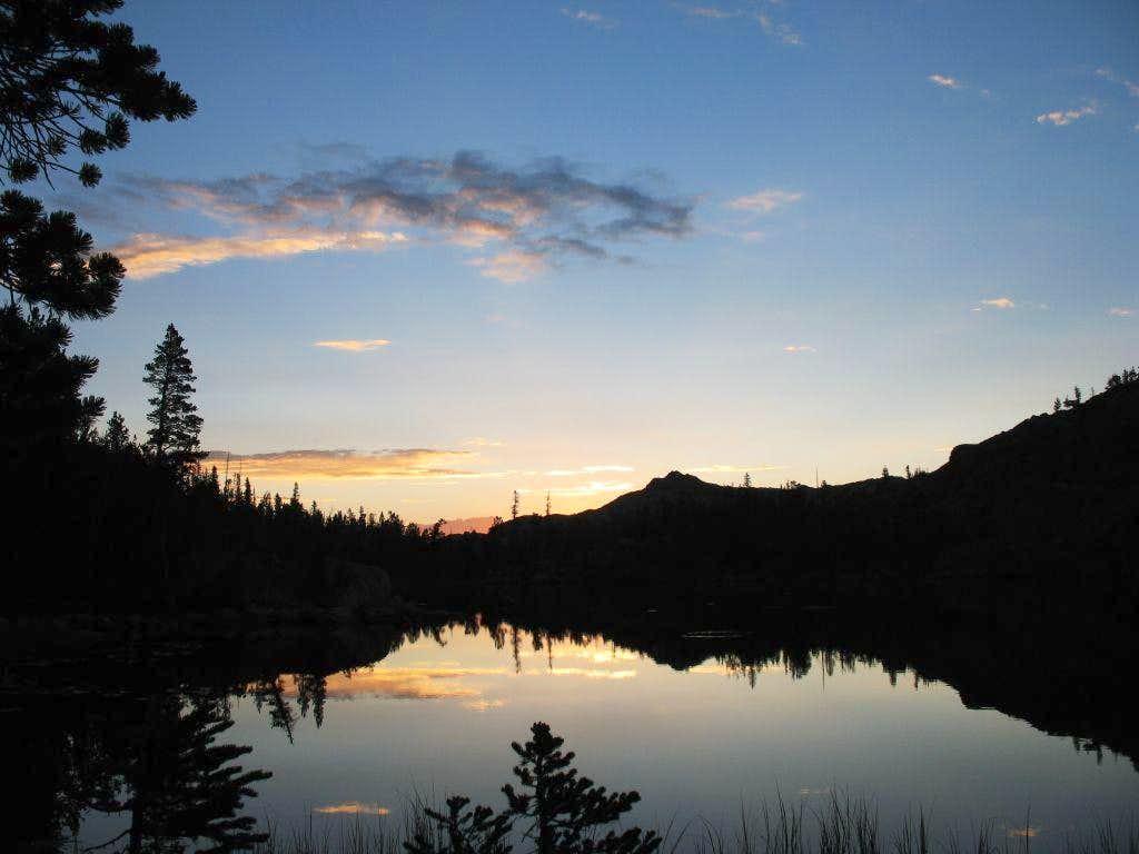 Honeymoon Lake Sunset
