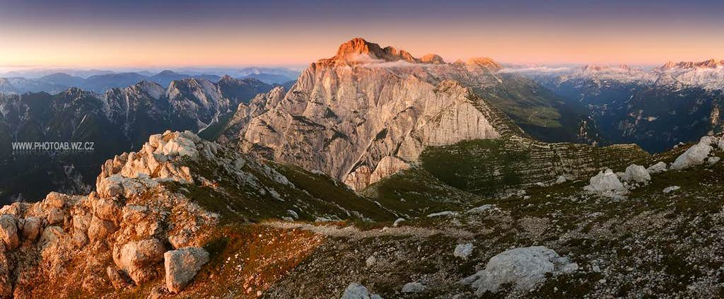 Monte Cimone panorama