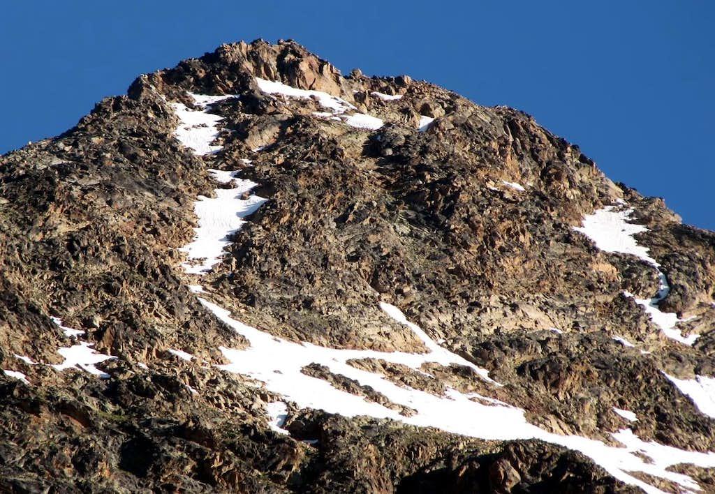 GARIN PEAK (3461m) from East-Southeast