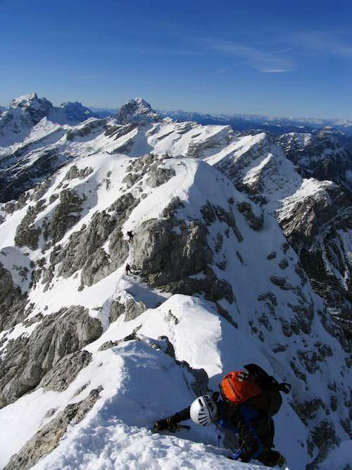 Prisank west ridge