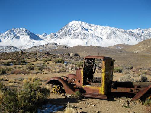 Tungsten Hills History