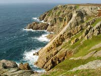 A Foray onto Lundy Island Climbing