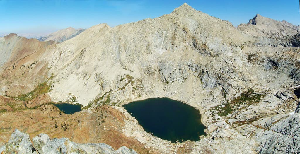 Monarch Lakes From Mineral Peak