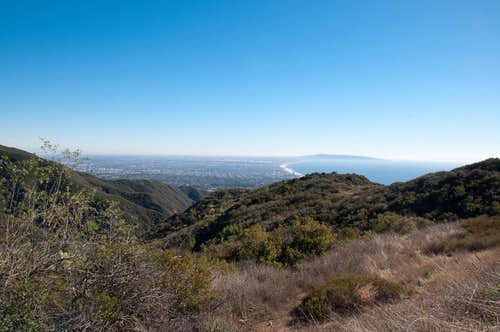 Temescal Canyon Road