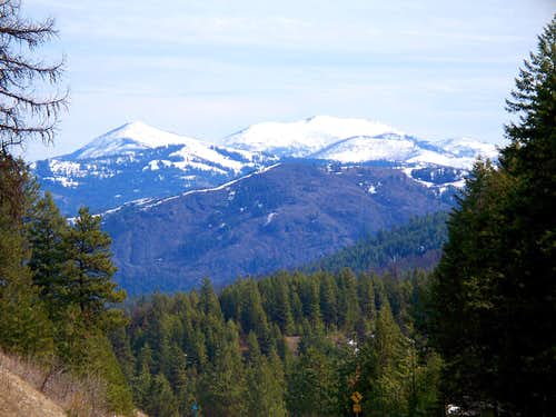 Sherman Peak and Snow Peak