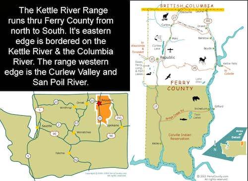 Ferry County maps