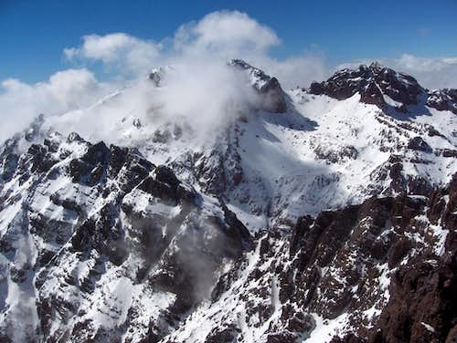 View south from Toubkal West