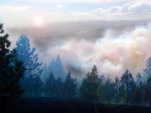 2010 Fish Hatchery Fire