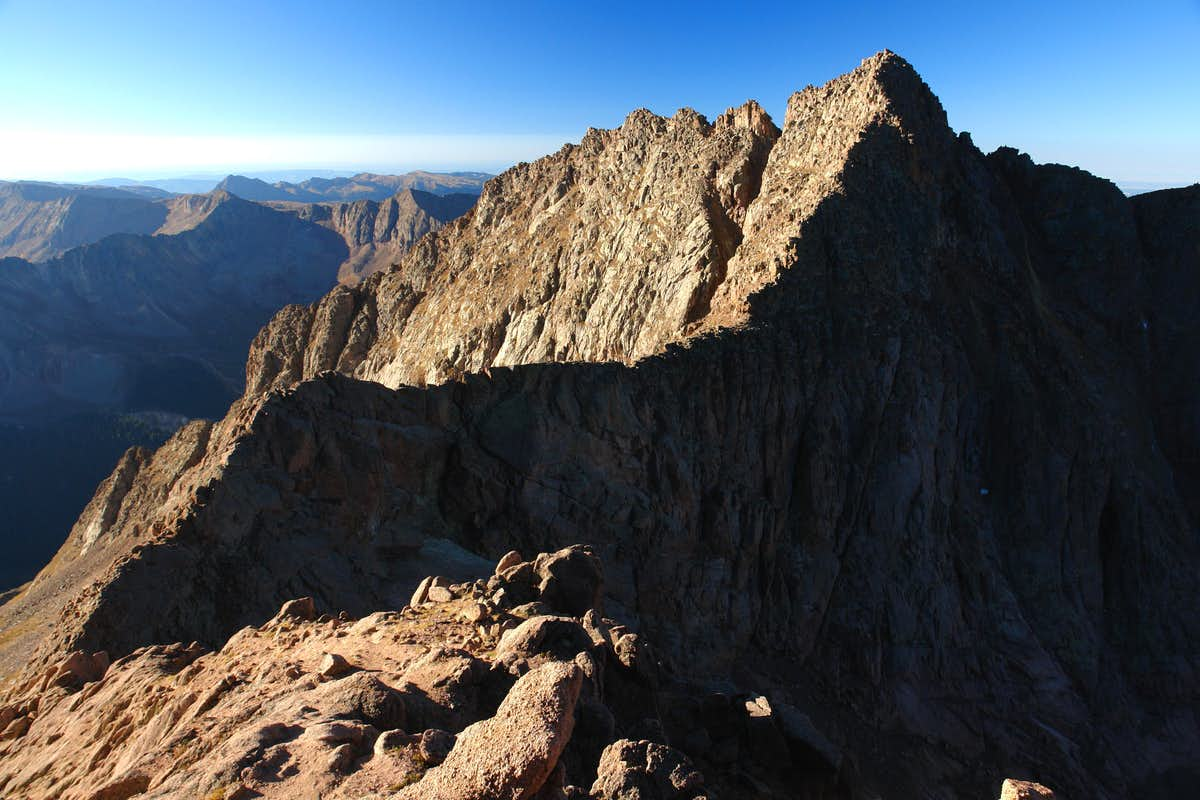 Mount Eolus Mt. Eolus, Colorado Cat Walk Exposure 7-26-2013 - YouTube