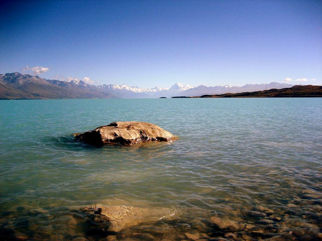 Lake Pukaki & Mt. Cook
